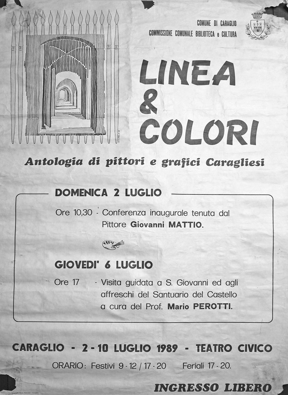 Linea & Colori - 1989 - poster